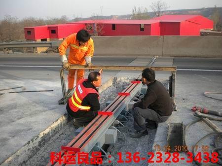 桥梁伸缩缝及桥梁伸缩缝胶条更换安装养护细节讲解2